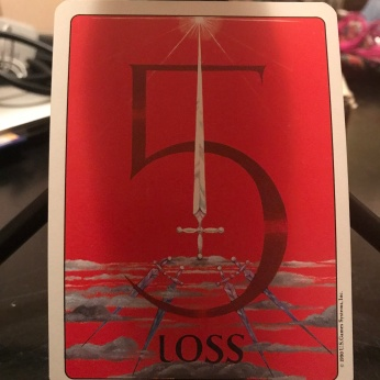 5 of Swords from The Gill Deck
