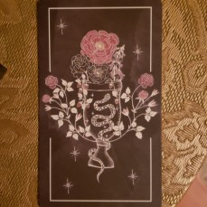 Back of Rachel's oracle card